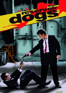 reservoir dogs illustration