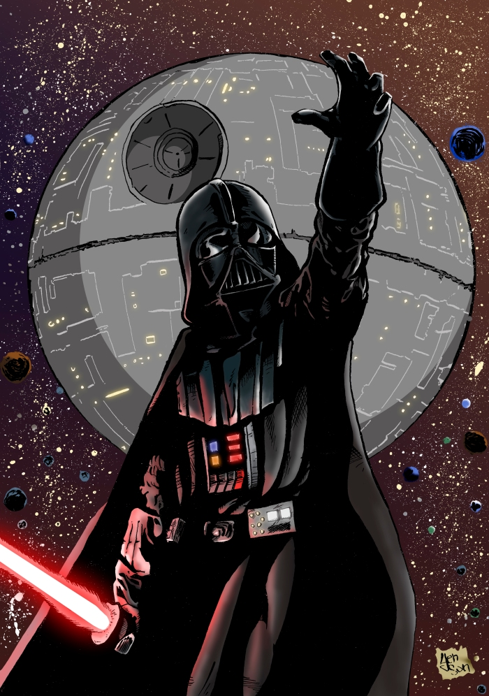 darth vader color