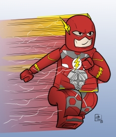 lego flash color